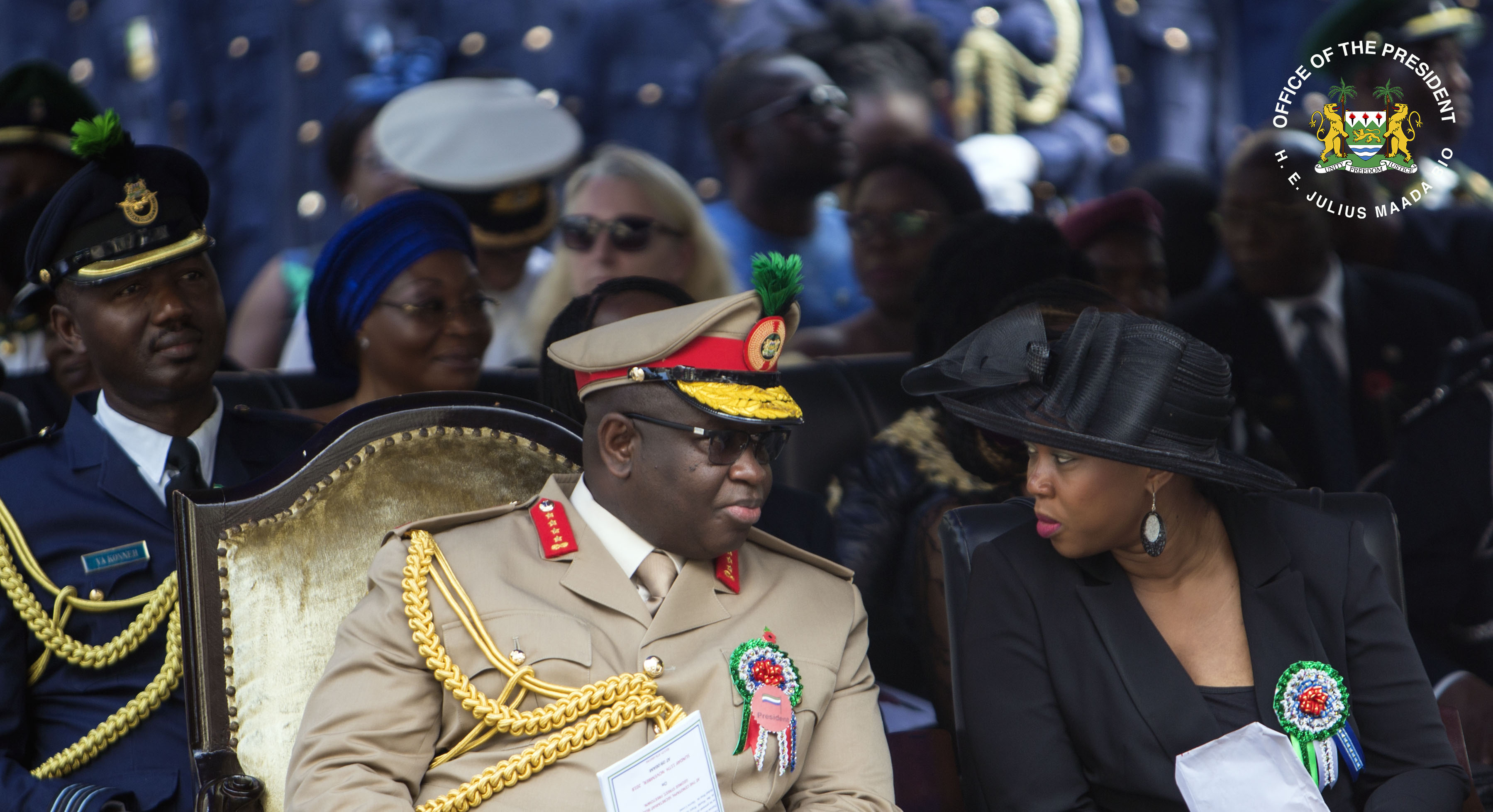 First Lady  Attends Centenary Remembrance Day Commemoration