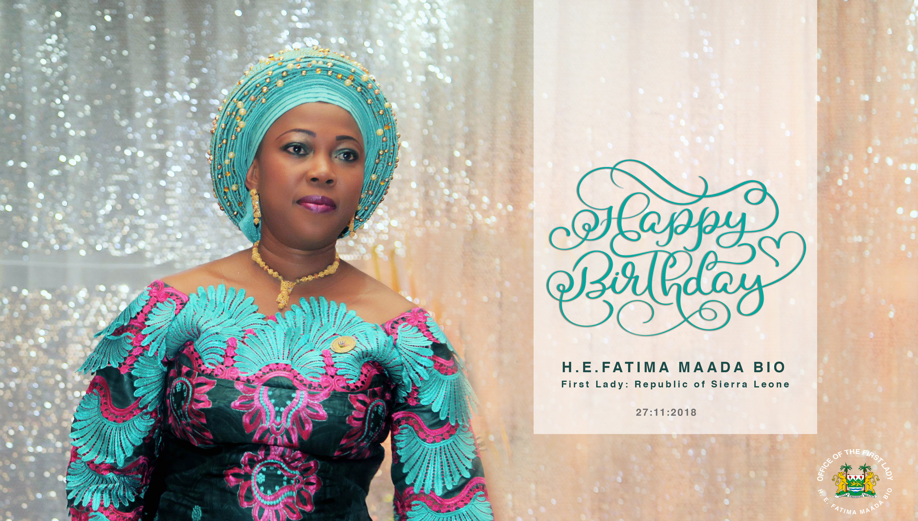 Happy Birthday H. E. Fatima Maada Bio
