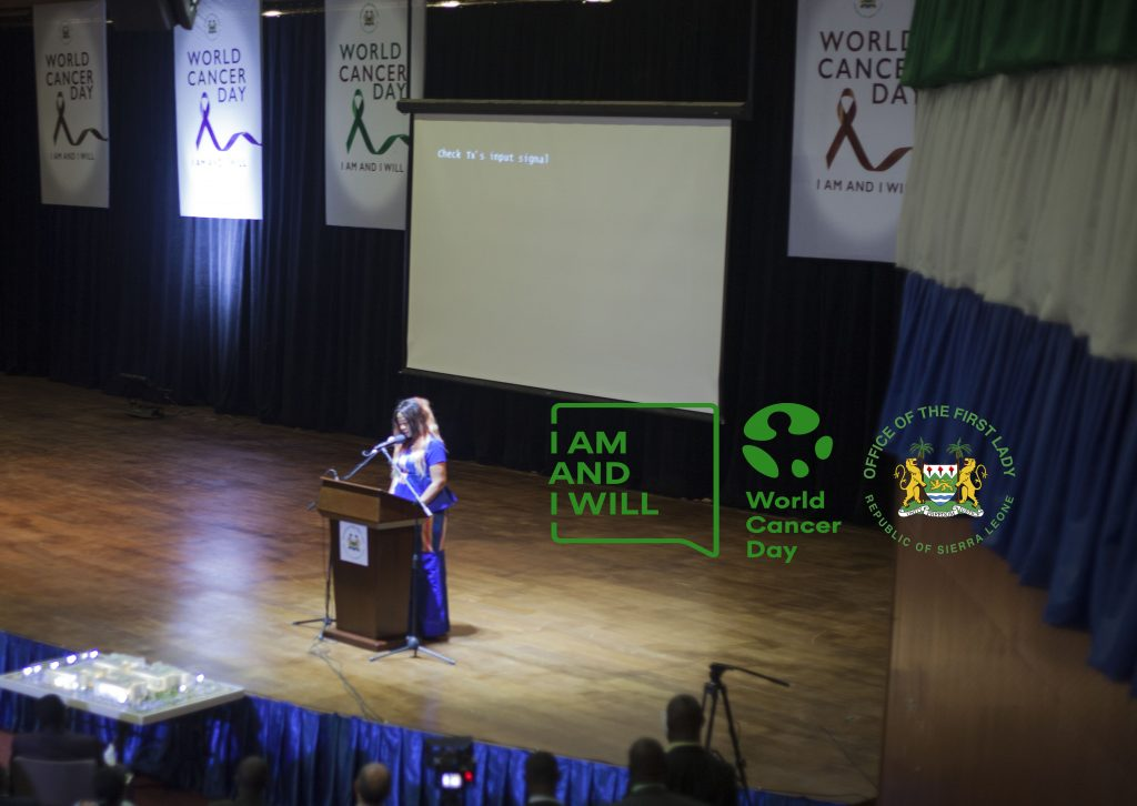 Sierra Leone Commemorates World Cancer Day – The Office Of