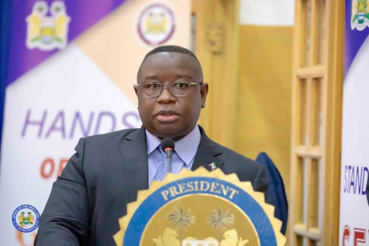 H.E Rtd Brg. Julius Maada Bio President of the Republic of SIerra Leone